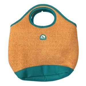 IGLOO Insulated Small Straw Bag Lunch Bag Purse